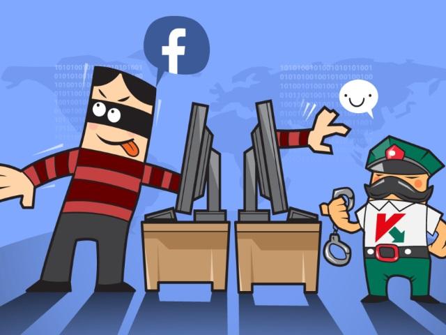 Ataque no facebook
