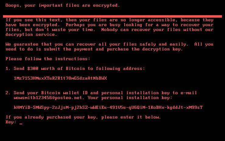 ransomware notpetya